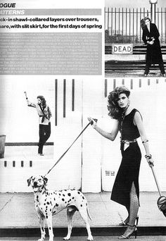 Gia Carangi - UK Vogue March 15, 1979