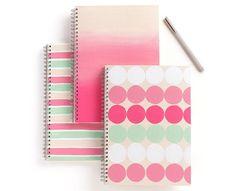 DIY notebooks with Martha Stewart Crafts Paint! #marthastewartcrafts