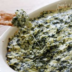 Love: Hot Spinach and Artichoke Dip