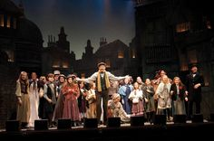 The Cast of a Christmas Carol, 2011 at The Colonial Theatre. #BerkshireTheatreGroup