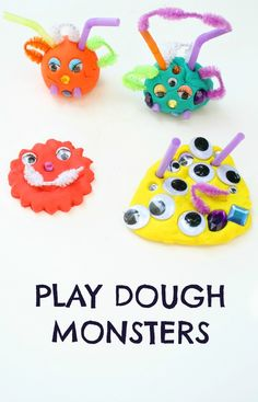 Play Dough Monsters