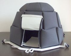 an insulated igloo to camp IN THE SNOW.