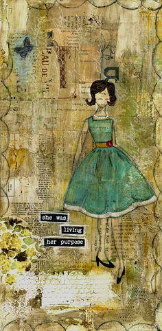 painting art, art journals, background, art paint, collag
