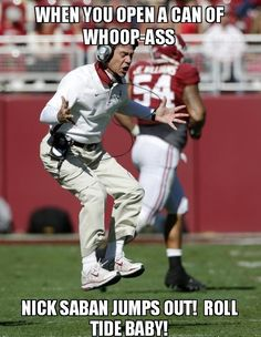 Pardon the French! Roll Tide!!