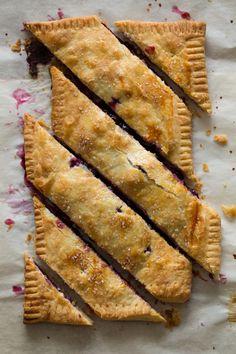 Blueberry Slab Pie.