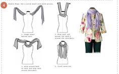 B&B FASHION HOUSE: HOW TO TIE A SCARF