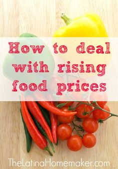 Many of us are on a tight budget so putting more money into our food budget is not an option. Here are 5 tips to help you deal with rising food prices.