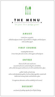 #menu #restaurant #design