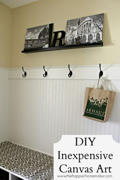DIY Canvas Art and free picture downloads