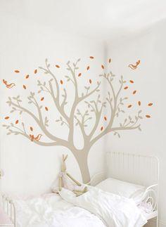 clam kids room l tree