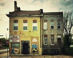Haunting abandoned buildings of St Louis