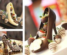zapatos de chocolate :D