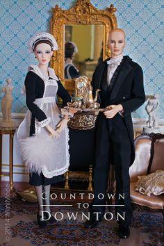 ... member, downton dollhous, abbey fashion, abbey doll, downton abbey