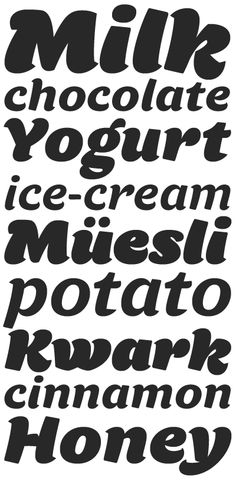 Tomate #typeface