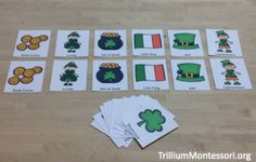 St Patricks Day Matching Cards
