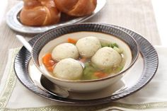 Matzo ball soup!