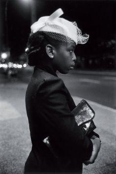 Harlem, New York City 1940. Taken by Martine Barrat
