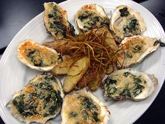 Oysters are great served either cold or warm like in this delicious ...