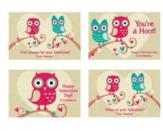 Valentines Day Cards by LindsayJayeDesign on Etsy, $15.00