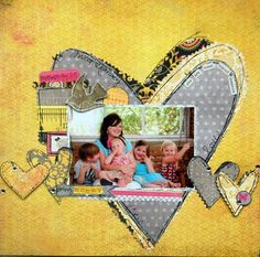 @Virginia Kraljevic Kraljevic Tillery. Cause she's the cutest thing ever. #mothers #day #scrapbook #layout