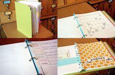Just Make Stuff...Homemade Planner