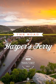 The drive from Washington DC to Harpers Ferry offers up some of the most beautiful autumn landscapes in the country. This drive is one of the Travel Channel's favorite fall road trips of 2013.