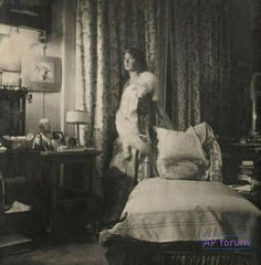 Rare photo of Grand Duchess Olga