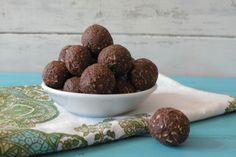 Avocado Chocolate Balls