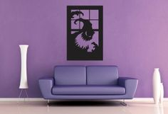 Ghost Window  Wall Vinyl  Large by WallsOfText on Etsy, $21.95