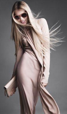 Vika Falileeva for Harper's Bazaar US October 2012 by Victor Demarchelier