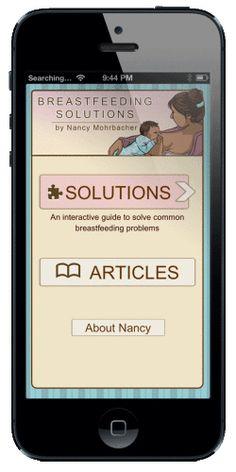 Breastfeeding Answers Made Simple - Breastfeeding Reporter - My New Breastfeeding SolutionsApp