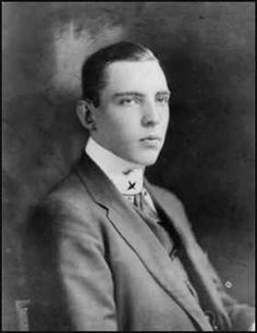 Vincent Astor: son of Ava Willing Astor and John Jacob Astor IV. He disliked his younger sister and was contemptuous towards his half-brother, born after their father's death on the Titanic. He married several times but left no issue.