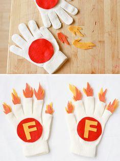 DIY Superhero Firepower Gloves for Kids