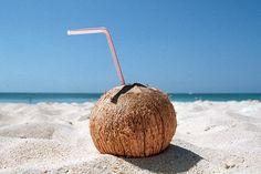 ♡ #coconut #beach #sand