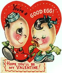 Vintage Valentines - classic kids Valentine's Day cards