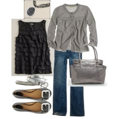 cute! gray and comfy.
