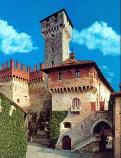 Tagliolo Castle~ Established where signalling fires were ignited in order to advise the populations of the arrival of the Moors, it offers itself to the visitors with its history of continuous destructions and restoration and with its current appearance, of great beauty.