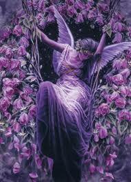 Beautiful Fairy in Purple