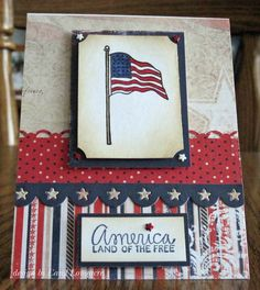 inspiration, juli mini, cardspatriot, 4th of july, patriot card, owh, julypatriot, hero card