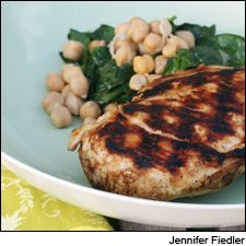 Indian-spiced grilled chicken and Chardonnay: A warm side salad of ...
