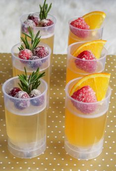 Family friendly sparkling Jell-O push pops - adult versions with champagne & sparkling Jell-O and kids versions with sparkling fruit juice here.  Definitely making these for New Years!