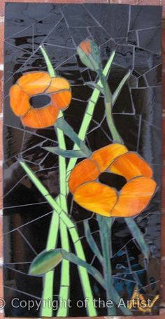 Poppies by Angela Weatherall