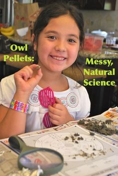Hands-on Learning: owl pellets plus extension activities.