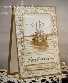 Happy Father's Day by AudreyAnn - Cards and Paper Crafts at Splitcoaststampers