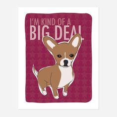 chihuahua print, dog print, funny dogs, chihuahuas, chihuahua art