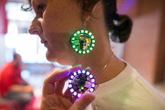 Maker Faire Rome 2014 | Gemma hoop earrings