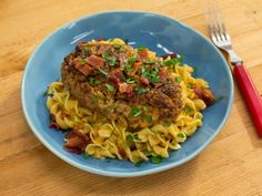Get Sunny's Easy Bacon Cheeseburger Salisbury Steaks Recipe from Food Network