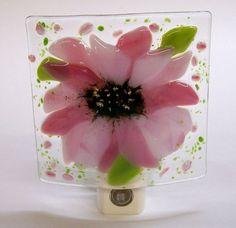 Fun fused glass nightlight:)