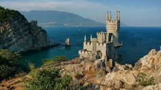 The Swallow's Nest - Crimean peninsula, Southern Ukraine