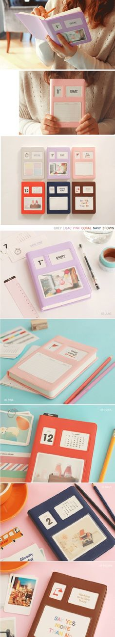 2011 e2 second diary - 6 colors choose one $19.99